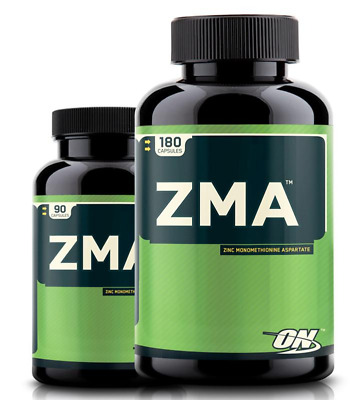 Optimum Nutrition ZMA Recovery, Strength Endurance Support 90 or 180 Capsules