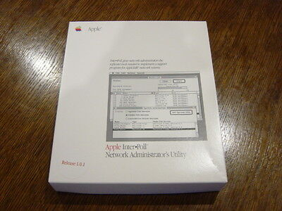 Apple Interpoll Network Administrators Utility (Mac) - (Open Box) - (New)