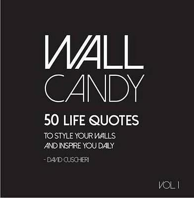 NEW Wall Candy By David Cuschieri Paperback Free Shipping