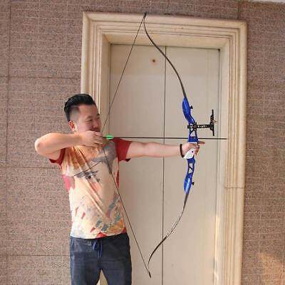 Archery 30lbs Takedown Recurve Bow Right Hand Target Practice Hunting Sight Set