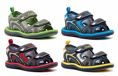 Boys Clarks Kids Youth Fear Jnr School Mary Jane Leather Sandals Shoes Casual