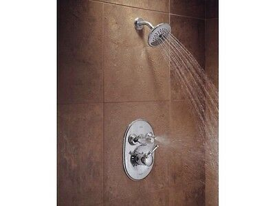 DELTA JETTED SHOWER Trim T18240 Chrome Color (Like: T18255/t18230 ...