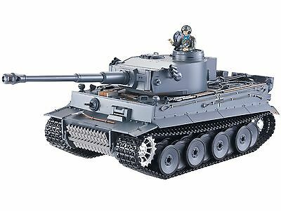 1:16 Taigen RC German Tiger I Tank Early Version Smoke & Sound 2.4GHz Infrared