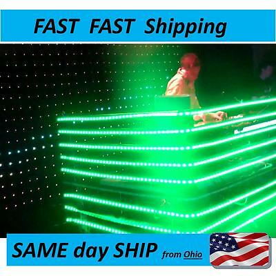 8ft DJ LED light kit - - light up your turntables - -- changing with remote NEW