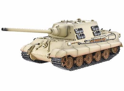 1:16 Torro RC Jagdtiger Tank Airsoft 2.4GHz Smoke & Sound Metal Edition Infrared