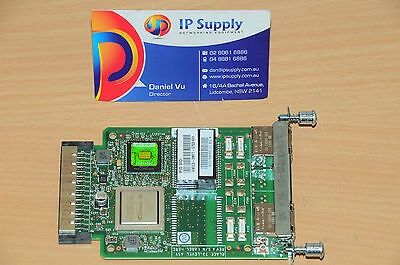 Cisco VWIC3-2MFT-G703 2-Port Multiflex Trunk Voice/WAN Interface Card 6MthWty