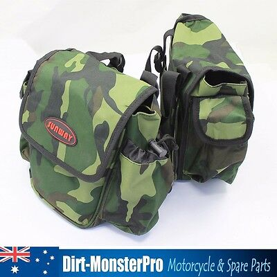 Tank Bag For ATV Quad Trail BIke Sunway Camo Motorcycle Tank Bags Mossy Oak