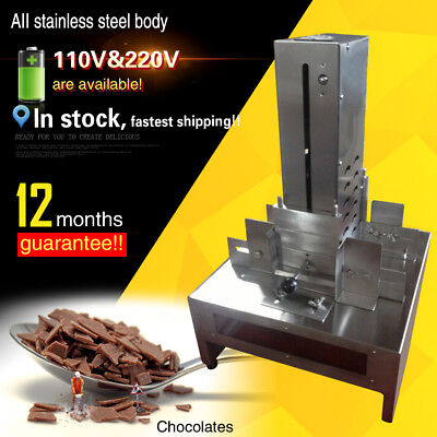 commercial chocolate block shaving machine/chocolate slicer/chocolate scraper