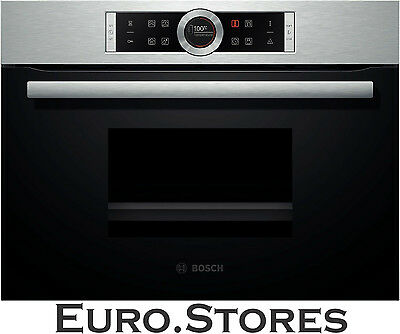 Bosch Serie 8 CDG634BS1 Compact Steamer Steam Oven Built In Genuine NEW