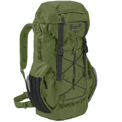 Brandit Aviator 50L Waterproof Military Backpack Hunting Travel Rucksack Olive