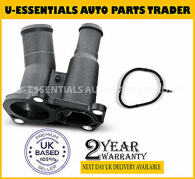 New Thermostat Housing + Seal For Ford Fiesta Focus Puma 1.25 1.4 1.6 1.7 Petrol