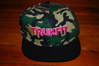 1d1870509de190 TRUKFIT ORIGINAL AUTHENTIC Snapback Flat Bill Brim Camo Culture ...