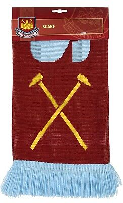 Official West Ham United Scarf Football Merchandise