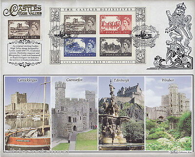 GREAT BRITAIN - 2005 Castles MS Benham Cover - Used / FDI*