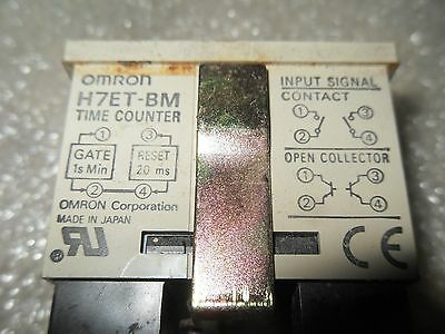 (Y7-1) 1 New Omron H7Et-Bm Time Counter