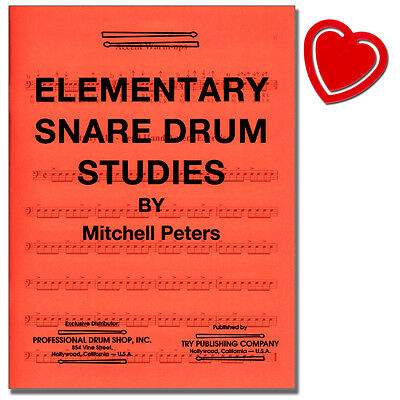 Elementary Snare Drum Studies - Mitchell Peters - TRY1063 - 9781934638279