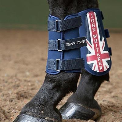 John Whitaker Union Jack Brushing Boots **less Than Half Priced***