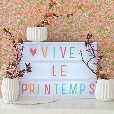 Set de lettres pastel pour lightbox - A little lovely company