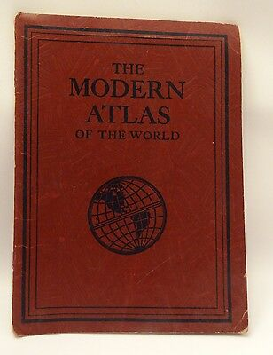 Paper Back The Modern Atlas of The World