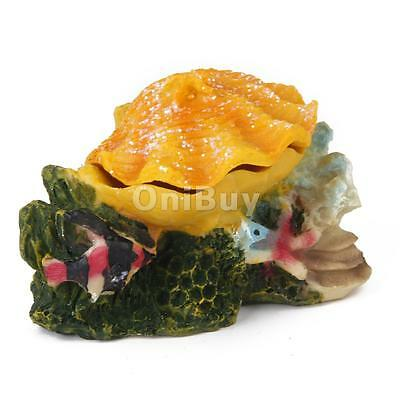 Bubbling Colorful Shell Design Ornement Décoration d'aquarium Fish Tank