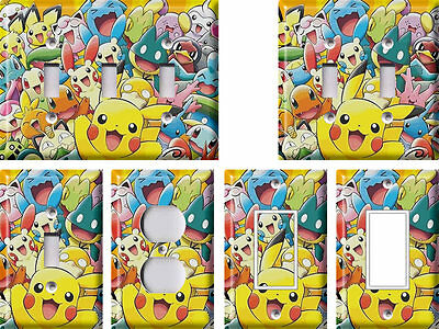 Pokemon 3 - Light Switch Covers Home Decor Outlet