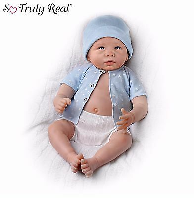 Ashton Drake 'Sweet Baby Liam' fully poseable Lifelike baby  Doll