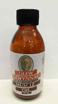 Olew Gewynnau Muscle Oil 140ml Rheumatism, Sciatica, Joint & Muscle Pain