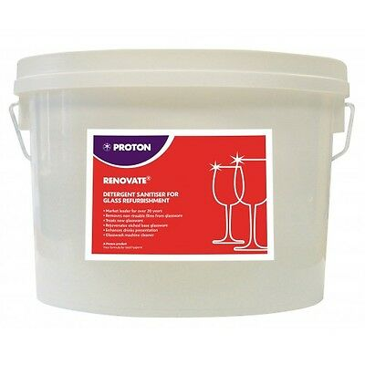2.5kg Proton Renovate Glass Renovation Powder Commercial Industrial Catering