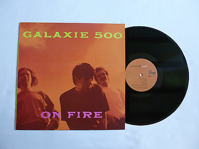 GALAXIE 500 ~ ON FIRE ~ ROUGH 146 ~ EX+/NrM ~ QUALITY 1989 UK 1ST PRESS VINYL LP