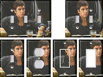 Scarface 1 - Light Switch Covers Home Decor Outlet