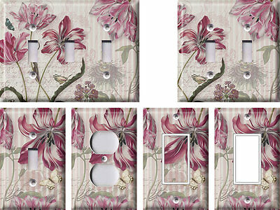 Spring Flowers 2 - Light Switch Covers Home Decor Outlet