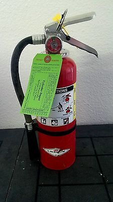 5lb Fire Extinguisher ABC Dry Chemical -Rechargeable -