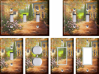 Tuscan Courtyard - Light Switch Covers Home Decor Outlet