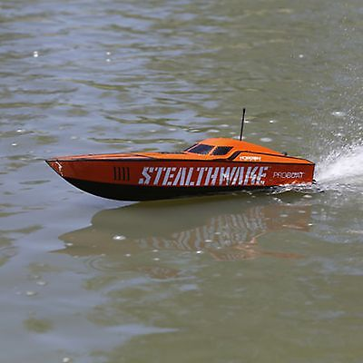 Stealthwake 23-inch Deep-V Brushed Boat Ready to Run Pro-Boat PRB08015