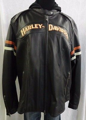 Harley Davidson Women's Miss Enthusiast 3-in-1 Leather Jacket