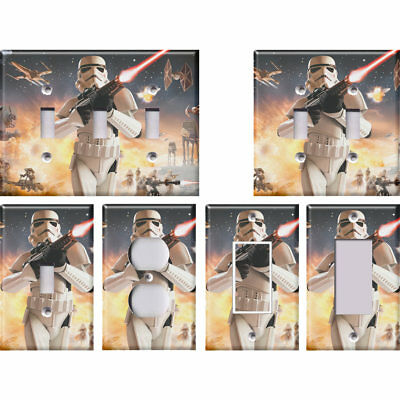 Star Wars (Stormtrooper) - Light Switch Covers Home Decor Outlet