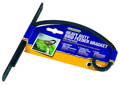 Gardman Heavy Duty Wild Bird Care Feeder Bracket 18 cm Garden Outdoors Patio