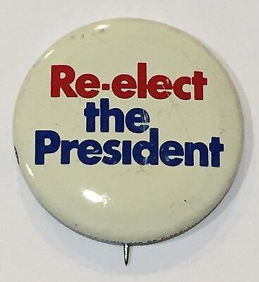 United States Re-elect the President 1972 Campaign Lapel Pin