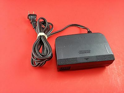 N64 Nintendo 64 Official AC Adapter NUS-002 USA - Tested & Working