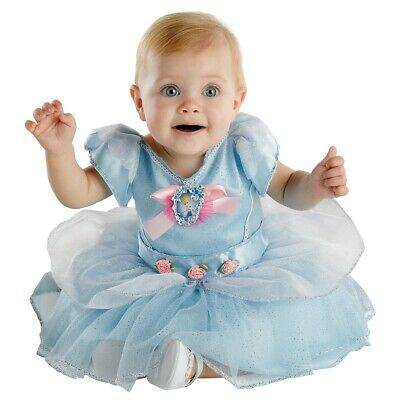 Cinderella Costume Baby Disney Princess Halloween Fancy Dress  sc 1 st  PicClick & CINDERELLA COSTUME BABY Disney Princess Halloween Fancy Dress ...