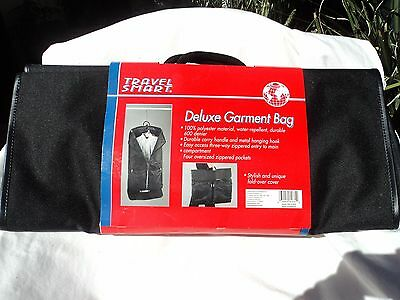 Travel Smart TSM-275GC Nylon Deluxe Garment Bag