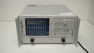 HP 8720ES   50 MHz - 20 GHz Network Analyzer  with op:10  Time Domain Capability