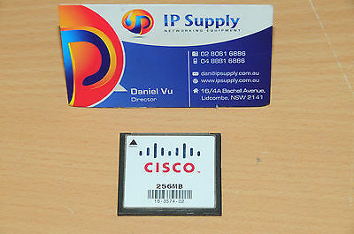 Original MEM-CF-256MB Compact Flash Memory for Cisco 1900 1921 1941 6MthWty