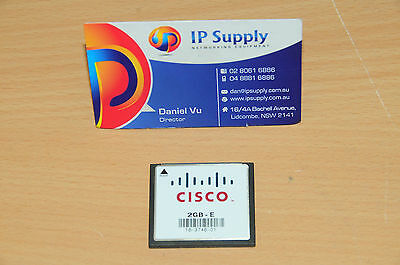Original MEM-CF-2GB Compact Flash Memory for Cisco 3900 3925 3945 3935E 3945E
