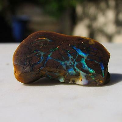 Boulder opal 100% natural solid opal 79.10 cts ready to be set in jewelry B1121