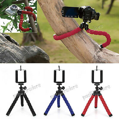 Octopus Stand Tripod Mount Holder for iPhone Samsung Universal Cell Phone PDA