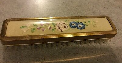 Clothes Brush - Part Petit Point Dressing Table Set