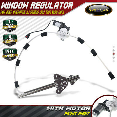 Window Regulator W/ Motor for Jeep Cherokee XJ 1997-2001 Front Right 55154958AI
