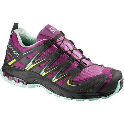 TRAIL RUNNING shoes Women's SALOMON XA PRO 3D GTX W mystic purple UK 7 EU 40 2/3