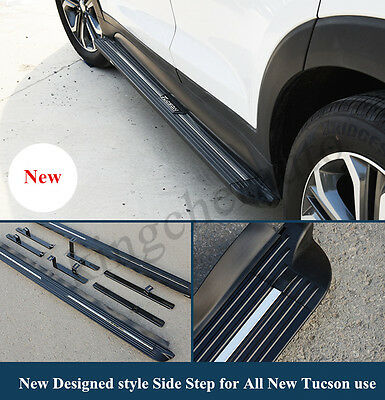 fit for Hyundai new TUCSON 2016 2017 new design running board side step nerf bar